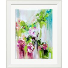 Color Me Pretty Orchids by Lana Framed Painting Print