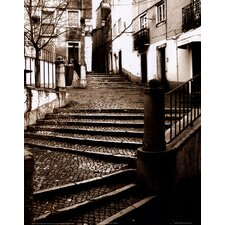 <strong>Evive Designs</strong> Stairs of Venice Wall Art(Print Only)