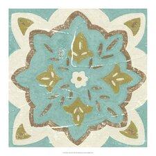 Rustic Tiles II by Chariklia Zarris Painting Print
