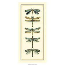 Dragonfly Collector I by Chariklia Zarris Painting Print