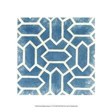 Small Modern Symmetry V by Chariklia Zarris Graphic Art