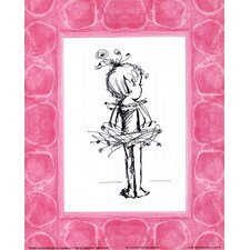 Tiny Ballerina Paper Print