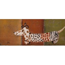 Fashion Puppy I by Patricia Pinto Painting Print