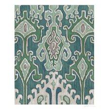 Emerald Ikat II by Chariklia Zarris Painting Print