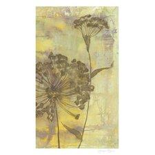 Dandelion Dance II by Jennifer Goldberger Painting Print