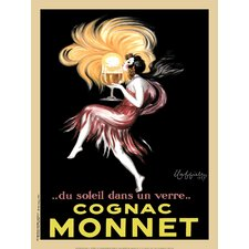 Cognac Monnet, 1927 by Leonetto Cappiello Vintage Advertisement