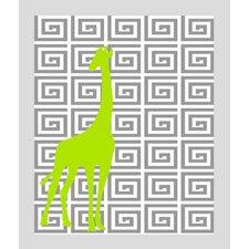 Giraffe Paper Print Art