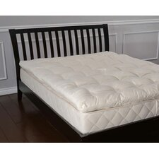 "3"" Organic Wool Mattress Topper"