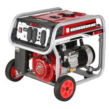 3,750 Watt Gasoline Portable Generator with Wheel Kit
