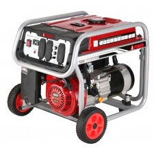 4,000 Watt Portable Gas Generator with Wheel Kit