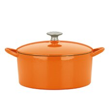 <strong>Mario Batali</strong> 4-Qt. Cast Iron Round Dutch Oven with Lid