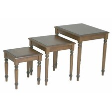 Knob Hill 3 Piece Nesting Table Set