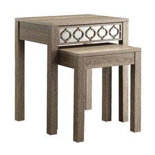 Helena 2 Piece Nesting Table Set