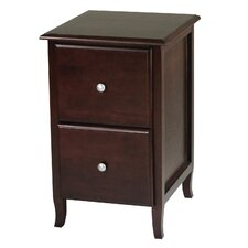 Merlot 2-Drawer File Cabinet