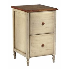 2-Drawer Country Cottage File Cabinet
