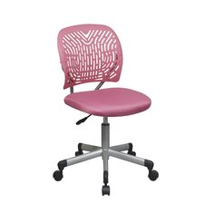 <strong>OSP Designs</strong> SpaceFlex Mid-Back Task Chair without Arms