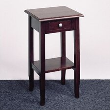 <strong>OSP Designs</strong> Merlot Multi-Tiered Telephone Table