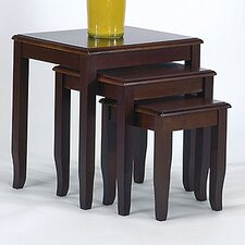 <strong>OSP Designs</strong> 3 Piece Nesting Table Set