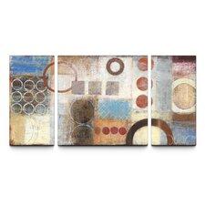 Reflections Textured 3 Piece Canvas Art Set