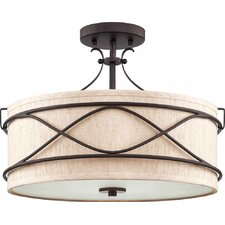 Giovanni 2 Light Semi Flush Mount