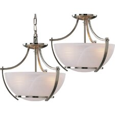 Durango 3 Light Pendant or Semi Flush Mount
