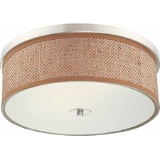 "24"" Basketweave Drum Shade"
