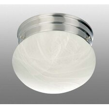 Minster 1 Light Ceiling Fixture Flush Mount
