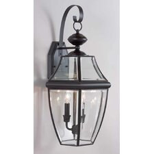 3 Light Outdoor Wall Sconce
