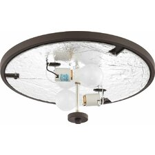 Esprit 2 Light Ceiling Fixture Flush Mount