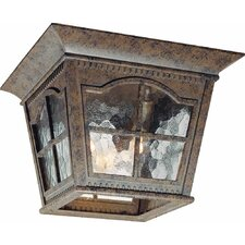 Leeds 3 Light Outdoor Ceiling Mount