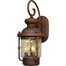 Sterling 3 Light Outdoor Wall Sconce