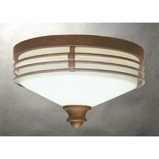 Avila 2 Light Ceiling Fixture Flush Mount