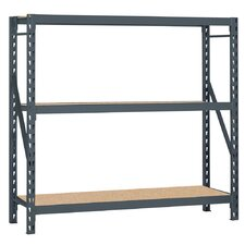 Bulk Storage Rack 2 Shelf Shelving Unit
