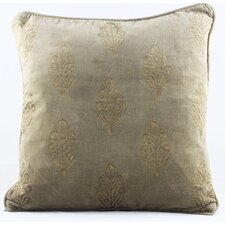 <strong>Timbergirl</strong> Handblocked Cotton Velvet Cushion