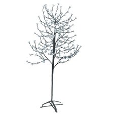 6.5' Blossom Artificial Christmas Tree with 240 Cool White LED Lights
