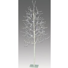 7.5' Blossom Artificial Christmas Tree with 512 Cool White LED Lights with a Trunk