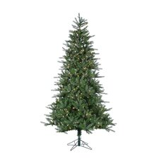 <strong>Sterling Inc.</strong> 7.5' Natural Cut Franklin Spruce Christmas Tree with 500 Clear Lights with Stand