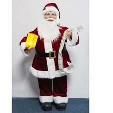 <strong>Sterling Inc.</strong> Animated Santa with List and Gift