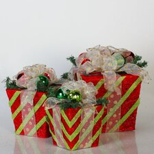 Sisal Gift Box Christmas Decoration
