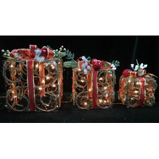 Gift Boxes with Ribbons Christmas Decoration