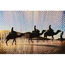 """Camel Trails"" Graphic Art on Canvas"