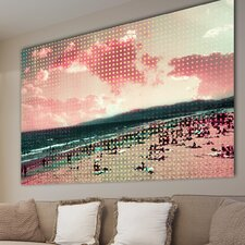"""Sunbaked"" Graphic Art on Canvas"