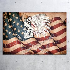 """Americana"" Canvas Art"