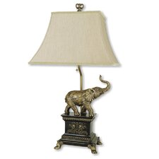 "Elephant 29"" H Table Lamp"
