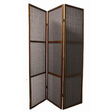 "<strong>ORE Furniture</strong> 70.25"" x 47"" 3 Panel Room Divider"