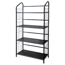 4 Tier Book Shelf in Black