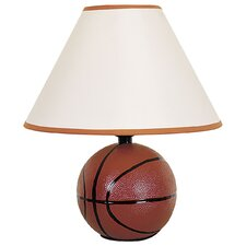 Ceramic Basketball Table Lamp