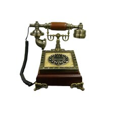 Classic Telephone in Brown