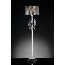 <strong>ORE Furniture</strong> Crystal Lady 1 Light Floor Lamp