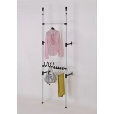 <strong>ORE Furniture</strong> Telescopic 3 Tier Clothes / Jeans Rack